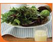 Lemon & ginger salad dressing